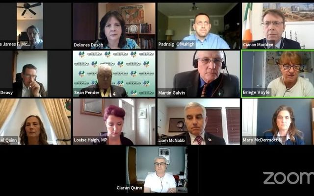 Participants in the AOH\'s recent webinar responding to the Ballymurphy Massacre Inquest verdict.