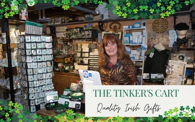 Owner of The Tinker\'s Cart, Cheryl Hughes