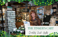 Bring the joy of Ireland to your front door with The Tinker's Cart