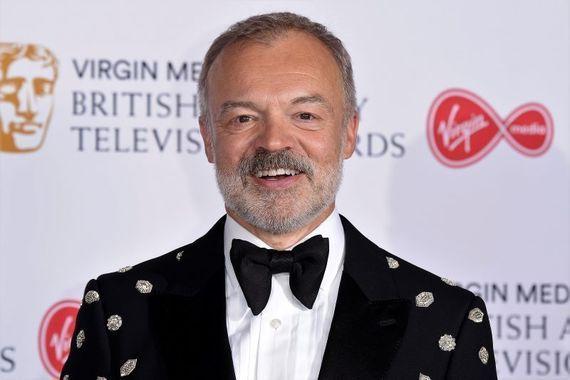 Author and television presenter Graham Norton