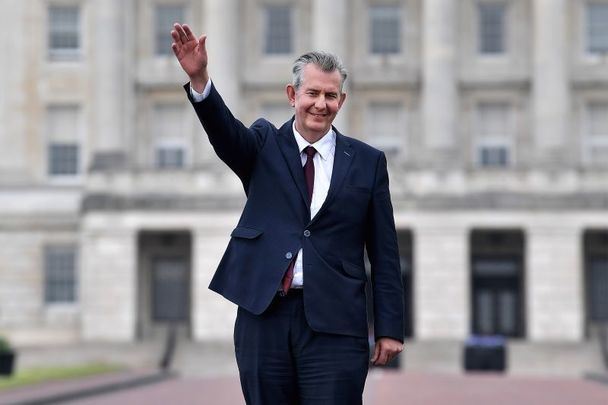Edwin Poots was elected leader of the DUP on May 14.