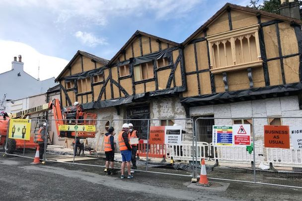 May 24, 2021: Enniskerry, Co Wicklow prepares to make its big Disney debut for \'Disenchanted.\'