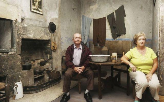Former residents John Horrigan and Jane Lynch who lived in 14 Henrietta Street