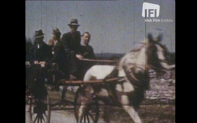 Off to the races! A still from \'Ireland\'s Golden West\' currently available via the Irish Film Institute.