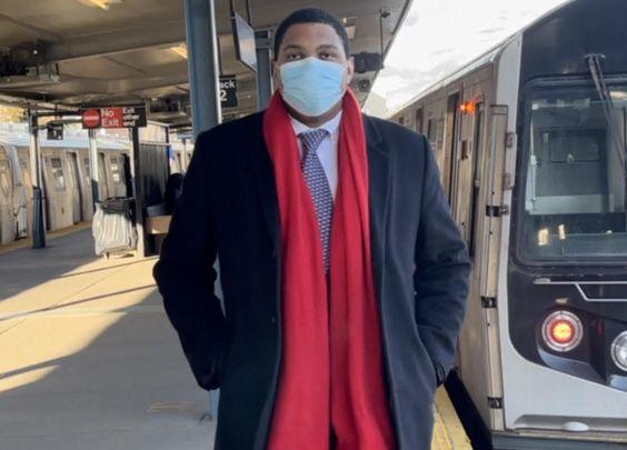 New York City mayoral hopeful, Thomas Downs.
