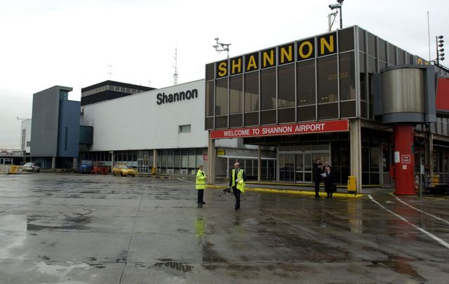 Shannon Airport, County Clare.