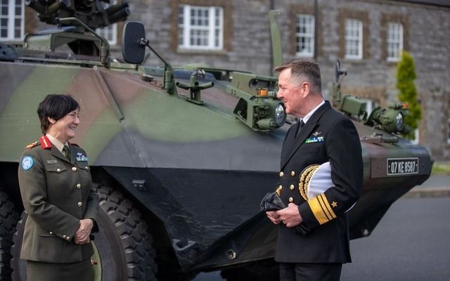 Maureen O\'Brien is the first female officer to reach the rank of Major General in the Irish Defence Forces