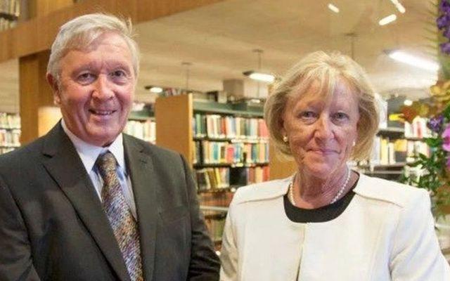 Eric and Barbara Kinsella donated €30 million to Trinity College Dublin