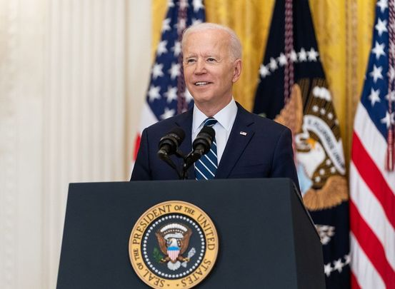 President of the United States, Joe Biden.