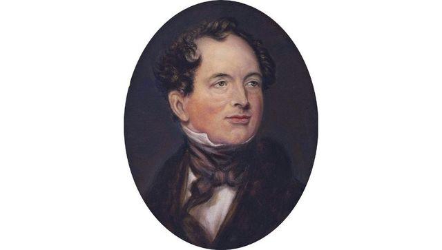 Thomas Moore, poet, scholar and lyricist.