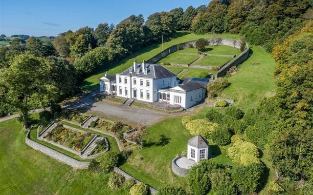 The Georgian property of Stone Hall in West Cork