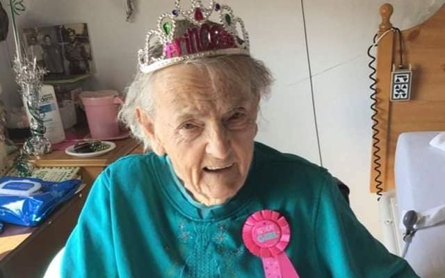 Nora Derhammer, originally from Tipperary, recently turned 103 years old.
