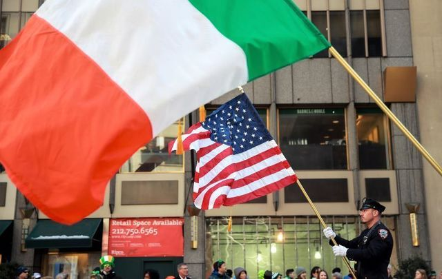 Scenes from the 2017 New York City St. Patrick\'s Day Parade.