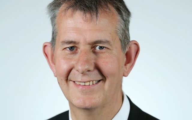 Edwin Poots, the new leader of the Democratic Unionist Party (DUP).