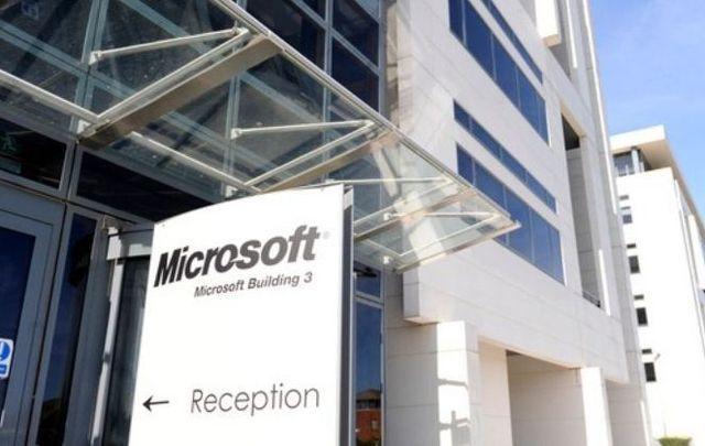 The Microsoft building in Sandyford, Dublin.
