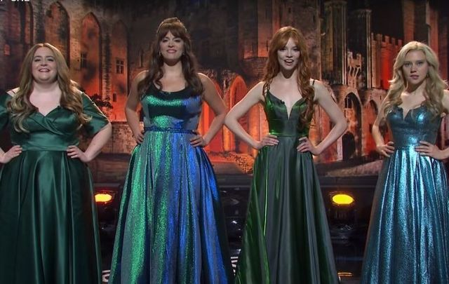 """Celtic Woman? """"The Lion King for Karens,"""" according to SNL."""