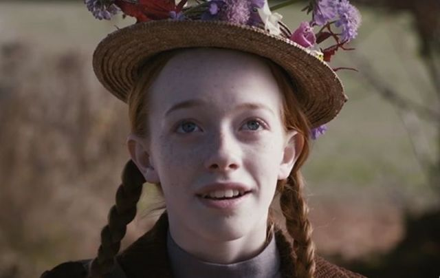 """Amybeth McNulty in \""""Anne With An E\""""."""