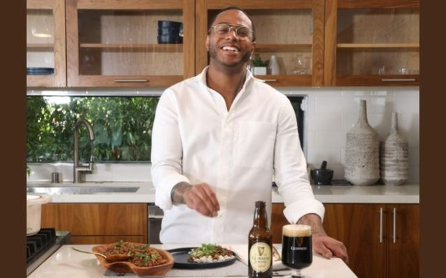 Hop's and John with Chef Kwame from the Guinness Flavor Series