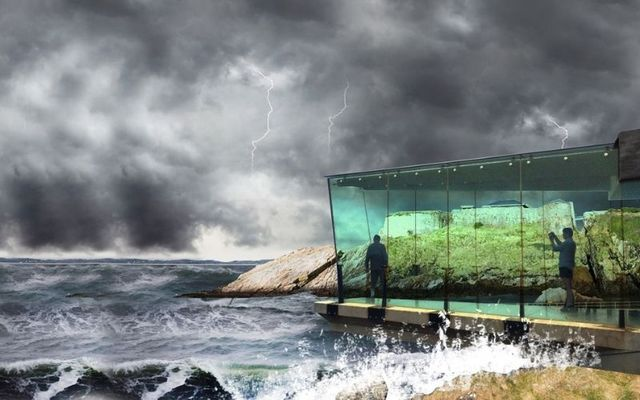 Artist\'s depiction of the new state-of-the-art visitor experience at Fort Dunree in Donegal.