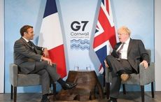 French President reportedly suggests Northern Ireland not part of the UK
