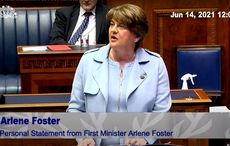 WATCH: Arlene Foster officially resigns as First Minister of Northern Ireland