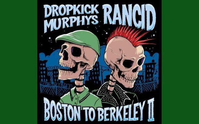Dropkick Murphys and Rancid announce co-headling \'Boston to Berkeley II\' tour dates for 2021.