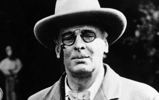 WB Yeats.
