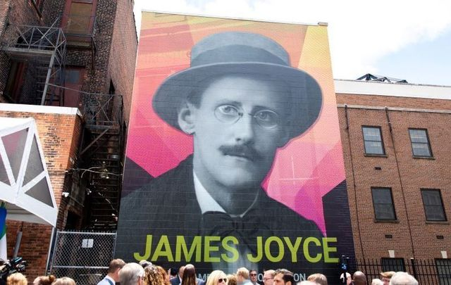 June 14, 2021: A new mural of the renowned Irish author and poet James Joyce is unveiled in downtown Buffalo, New York.\n