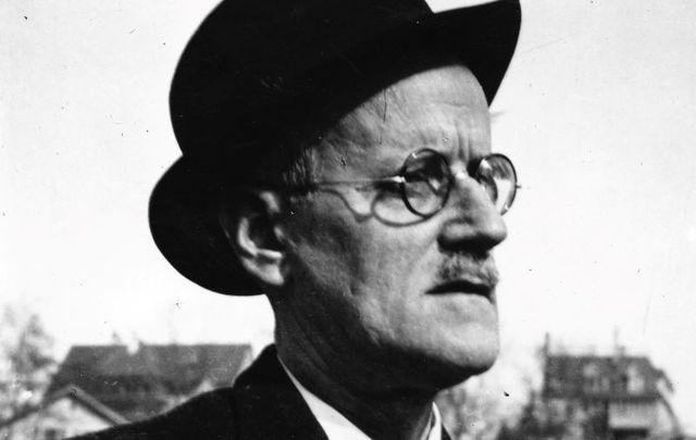 James Joyce, pictured here in Zurich.