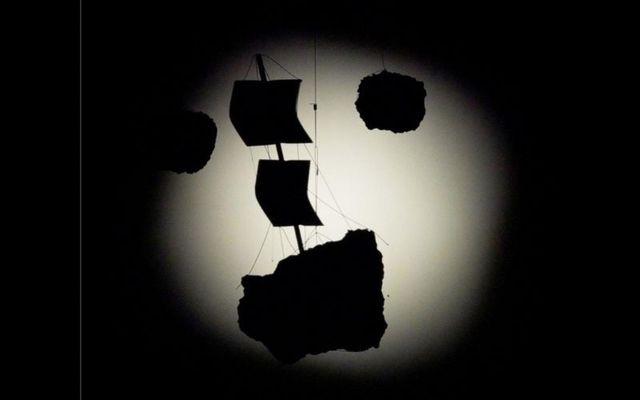 Glenn Kaino's exhibit at the Massachusetts Museum of Contemporary Art.