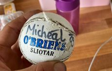 Cork boy's sliotar turns up in Wales six months after going missing