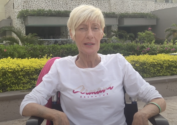 Julia McAndrew from County Galway was recently diagnosed with stage-4 breast cancer which has sadly spread aggressively throughout her body.