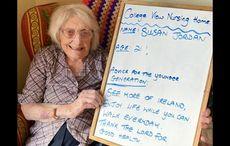 Elderly in Cavan post words of wisdom for the youth on Facebook