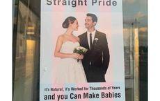 """Straight pride"" posters spark anger amongst Irish LGBT communities"