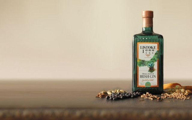 Listoke\'s award-winning 1777 gin.