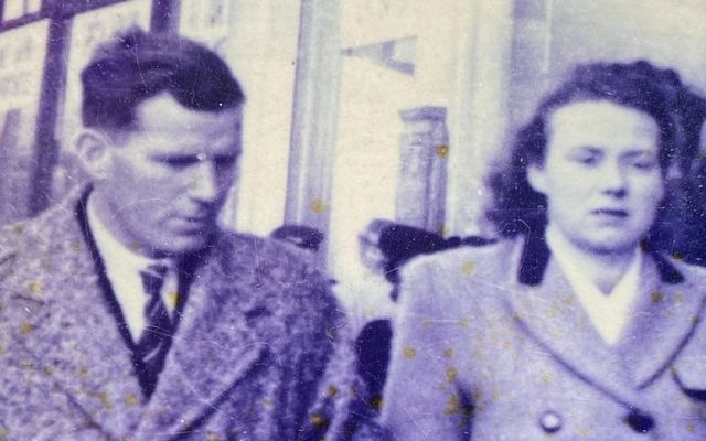 Donal and Kathleen O\'Dowd, shortly after they were married, pictured in Dublin in 1946
