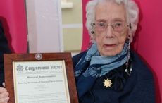 Irish weather forecast D-Day hero honored by US government