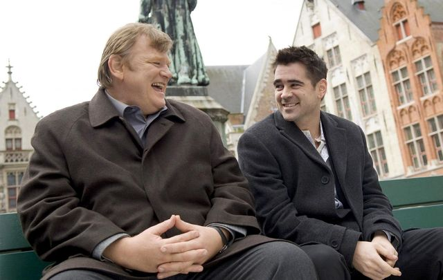 Brendan Gleeson and Colin Farrell in Martin McDonagh's In Bruges in 2008.