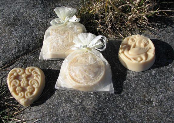 Celtic Caprine's goat milk soap.