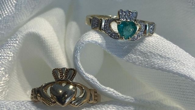 Claddagh rings from Donegal Square