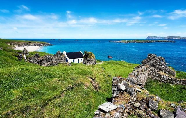 The Great Blasket Island off the coast of Co Kerry.