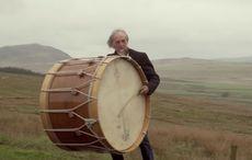 The Lambeg drum, loyalist symbol, mixes it up with Irish dancing
