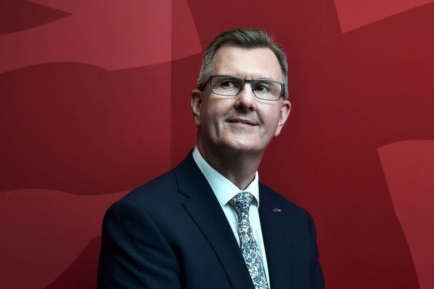 Sir Jeffrey Mark Donaldson is a British politician who became the leader-designate of Northern Ireland\'s Democratic Unionist Party.