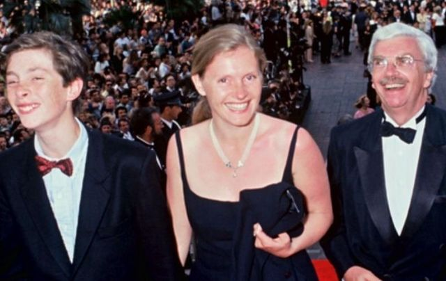Pierre Louis du Plantier, Sophie Touscan du Plantier, and her husband Daniel Toscan du Plantier.
