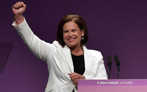 Sinn Féin President Mary Lou McDonald.