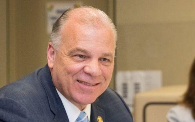 New Jersey Senate President Stephen M. Sweeney.
