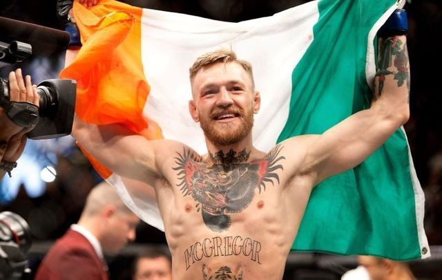 Irish UFC superstar Conor McGregor.