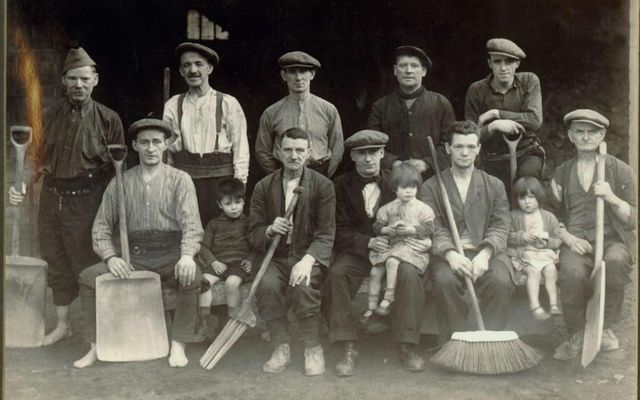 Workers pictured at the Jameson Bow St. Malthouse
