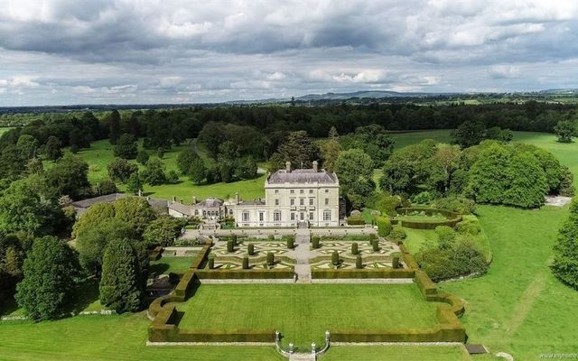 The mansion is situated on a huge 1,100-acre site in Laois.