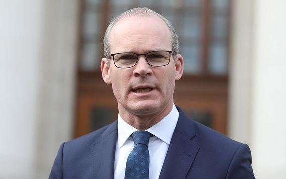 Irish Minister for Foreign Affairs Simon Coveney.
